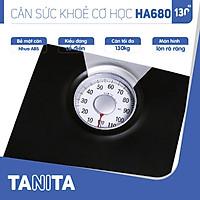 Cân sức khoẻ cơ học Tanita HA680 Nhật Bản,Cân Tanita, chính hãng nhật bản,cân cơ học,cân chính hãng,cân nhật bản,cân sức khoẻ y tế,cân sức khoẻ gia đình,cân sức khoẻ cao cấp,cân120kg,cân 130kg,Cân sức khoẻ mini