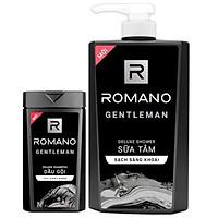 Sữa tắm Romano Gentleman 650ml tặng kèm dầu gội Gentleman 150g