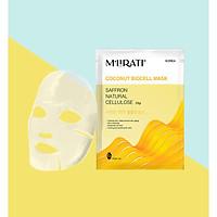 Saffron Natural Cellulose (Mặt Nạ Sinh Học Nhụy Hoa Nghệ Tây) - M'Lirati