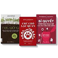 Bộ 3 cuốn Chú chó lạc quan + Bí quyết khơi dậy đam mê + Hạt giống kiếm tìm mục đích & hạnh phúc
