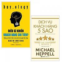 Combo Sách Kinh Tế - Nghệ Thuật Thu Hút Khách Hàng : Điều Gì Khiến Khách Hàng Chi Tiền? + Dịch Vụ Khách Hàng 5 Sao - (Tặng Kèm Postcard Greenlife)