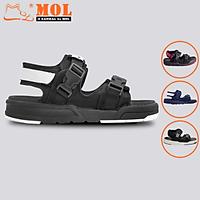 Giày sandal Vento nam nữ 2 quai ngang vải dù có quai hậu cố định mang đi học du lịch NV1002B