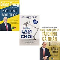 Combo 3 Cuốn Sách:  Làm Ra Làm Chơi Ra Chơi+ Nghệ Thuật Quản Lý Tài Chính Cá Nhân + Nghệ Thuật Phát Triển Bản Thân