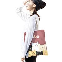 Túi Vải Đeo Vai Cao Cấp XinhStore Vải Canvas