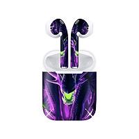 Miếng dán skin chống bẩn cho tai nghe AirPods in hình Rồng Dragon - dra014 (bản không dây 1 và 2)
