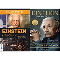 Bộ Sách Về Cuộc Đời Và Tư Tưởng Của Albert Einstein - Nhà Khoa Học Vĩ Đại Nhất Thế Giới ( Einstein - Đời Sống Và Tư Tưởng + Einstein - Cuộc Đời Và Vũ Trụ ) tặng kèm bookmark Sáng Tạo