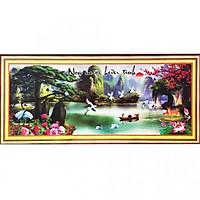 Tranh Thêu Non Nước Hữu Tình (215 x 90 cm)