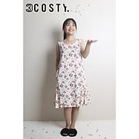 Váy Ngủ/Đầm Mặc Nhà/Đầm Bầu Tole (Lanh) 3COSTY. - Nhiều Họa Tiết