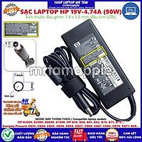 (ADAPTER) SẠC LAPTOP HP 19V-4.74A (90W) (Kim Lớn) kích thước đầu ghim 7.4 x 5.0 mm