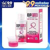 Nước súc miệng diệt khuẩn răng miệng Opflu 70ml