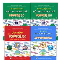 Combo 4 cuốn sách học lập trình kéo thả cho học sinh từ 6 - 18 tuổi
