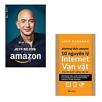 Bộ 2 cuốn sách tìm hiểu về Amazon: Jeff Bezos Và Kỷ Nguyên Amazon - Phương Thức Amazon 10 Nguyên Lý Internet Vạn Vật Thay Đổi Doanh Nghiệp Hiện Đại