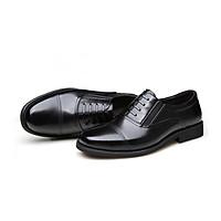 Homme York - Loafer Italian Leather Dress Shoe in Black