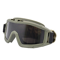 Military Airsoft Tactical Goggles Shooting Glasses 3 Lens Motorcycle Windproof Game Goggles