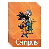 Lốc 10 Cuốn Vở 4 Ô Ly (2,5X2,5Mm) Campus Dragon Ball Z - Brothers NB-BDBB48 - ĐL 100 (48 Trang) - Giao Mẫu Ngẫu Nhiên