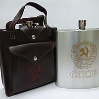 Bình Rượu INOX CCCP  Cao Cấp 3L( 108Oz) - Tặng Kèm Phễu INOX