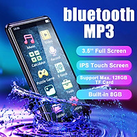 3.5'' Full Screen 8GB bluetooth MP3 Music Player Portable Voice Recording