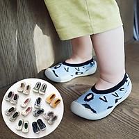 Giày bún có đế siêu mềm cho bé, Giày bún cao cấp cho bé trai bé gái