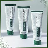 COMBO 3 HỘP KEM TẨY LÔNG UMI 4C | Kem tẩy lông an toàn cho cả da nhạy cảm ( Tặng 1 hộp Mỡ trăn triệt lông vĩnh viễn U Minh Hạ size lớn)