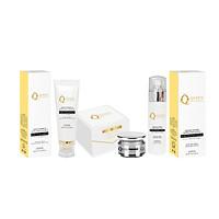 Bộ sản phẩm dưỡng trắng da tăng sinh collagen cao cấp Nhật Bản Queen Japan Cosmetics