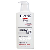 Sữa Tắm Gội Cho Bé Eucerin Baby Wash & Shampoo (400ml)