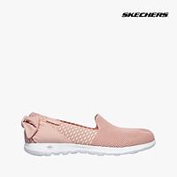 SKECHERS - Giày slip on nữ phối nơ Go Walk Lite 136020-LTPK