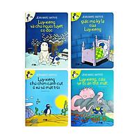 Sách cho bé - Bộ 4 cuốn Chú Chim Cánh Cụt Luy-Xiêng - Tác giả Jean Marc Mathis