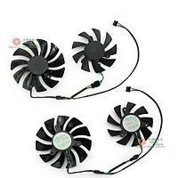 2 HA9010H12F-Z 4PIN 85MM Mới Quạt Làm Mát RTX2060, G-TX1660Ti 2060 Dành Cho MSI GeForce RTX 1650 VENTUS XS C 6G OCV1