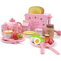 Đồ Chơi Gỗ - Bữa sáng đáng yêu, cho bé thêm nhiều trải nghiệm lý thú