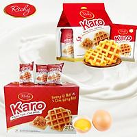 Thùng 72 Bánh tươi Karo chà bông sợi gà