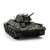 Mô hình thép 3D tự ráp mẫu xe tank T34