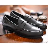 Giày Tây Công Sở Nam Không Dây Siêu Chất GL33 Cao Cấp