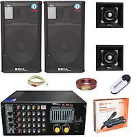 Dàn karaoke 4 tấc gia đình BK - 88S BellPlus (hàng chính hãng)