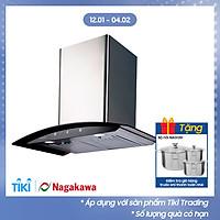 Máy Hút Mùi Kính Cong Premium Nagakawa NAG1855 (70 cm) - Hàng Chính Hãng
