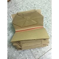 combo 500 túi giấy xi măng loại túi 1 vuông kt 17x21