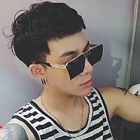 Kính Mát Nam Tròng Vuông Gọng Vàng Cao Cấp + TẶNG QUÀ MAY MẮN BÌNH AN