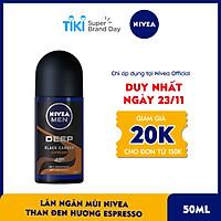 Lăn Ngăn Mùi Nivea Than Đen Hương Espresso - 85366 (50ml)