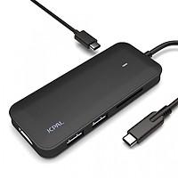 Cổng chuyển Hub USB Type-C cho Macbook ra HDMI, USB, SD JCPal