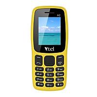 Điện thoại di động GSM Vtel A2 (Màu Vàng) – Hàng chính hãng