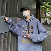 (Video Ảnh Thật ) Áo hoodie THIS'S FACLY áo khoác nỉ form rộng Unisex Nam Nữ Couple đều được, Áo Hoodie tay phồng chất nỉ bông cực mịn chữ nhật - Form rộng Unisex Nam Nữ Couple đều mặc được