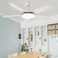 Đèn quạt trần LED JUMMI trang trí hiện đại 3 chế độ ánh sáng - có điều khiển từ xa