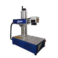 Máy khắc laser Fiber kim loại mini khắc logo, khắc hình ảnh, mã vạch trên kim loại Aturos MAX 01R (20W, Nguồn Raycus) - Hàng nhập khẩu