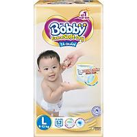 Tã Quần Cao Cấp Bobby Extra Soft Dry Thun Chân Ngăn Hằn L52 (52 Miếng)
