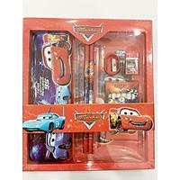 Bộ Hộp Bút 7 món hình Nhân vật Hoạt Hình. Dụng cụ học tập đáng yêu cho bé.
