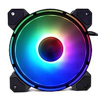 Combo 2 Quạt Led RGB Coolmoon Light wheel