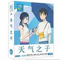 Hộp ảnh lomo Tenki no Ko Đứa con của thời tiết anime chibi in hình đẹp tặng thẻ Vcone