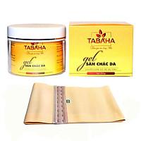 Kem tan mỡ TABAHA 250g giúp giảm mỡ bụng và săn chắc da cho mẹ sau sinh tặng Nịt Bụng