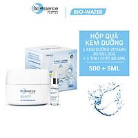 Hộp Quà Dưỡng Chất Phục Hồi Và Cấp ẩm cho da Bio-essence Bio-water B5 Cream 50gr + Tinh chất B5 5ml