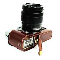 Bao da Halfcase dành cho máy ảnh Fujifilm X-T10, X-T20 Và X-T30 - Hàng Nhập Khẩu