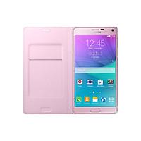 Ốp lưng Flip Wallet dành cho Samsung Galaxy Note 4 (hồng phấn)
